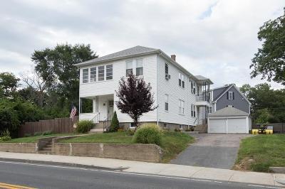 Attleboro Multi Family Home Under Agreement: 373-375 Thacher Street