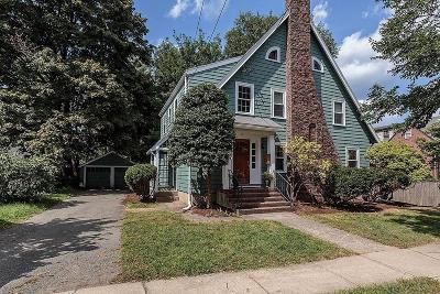 Belmont Single Family Home Under Agreement: 9 Temple Street