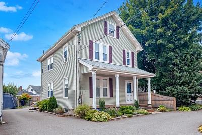 Waltham Single Family Home For Sale: 12 Russell Street