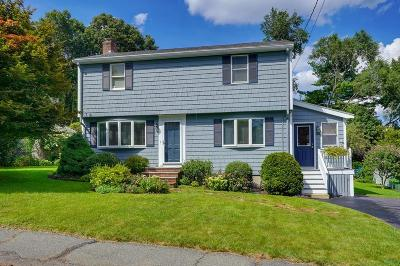 Waltham Single Family Home Contingent: 55 Mount Walley Road