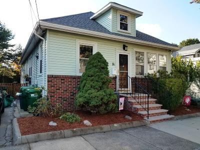 Medford Single Family Home Under Agreement: 14 Burnside St