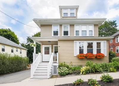 Arlington Condo/Townhouse Sold: 28 Scituate St #28