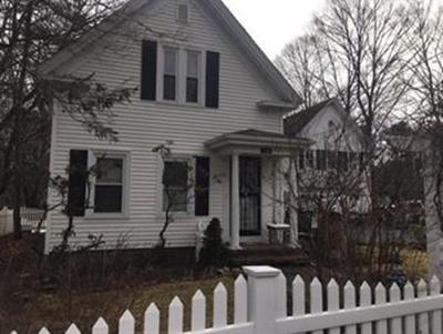 Easton Single Family Home Under Agreement: 124 Washington St