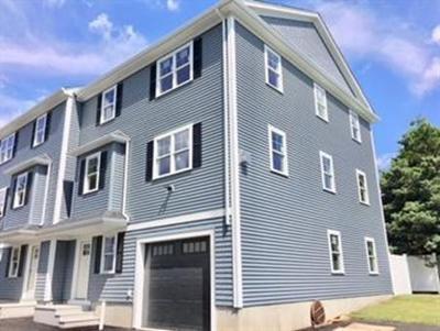 Waltham Condo/Townhouse For Sale: 27 Orange Street #3