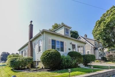 Dedham Single Family Home Under Agreement: 340 Cedar Street