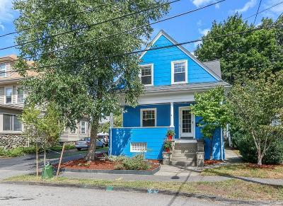 Waltham Single Family Home Under Agreement: 22 Crafts St