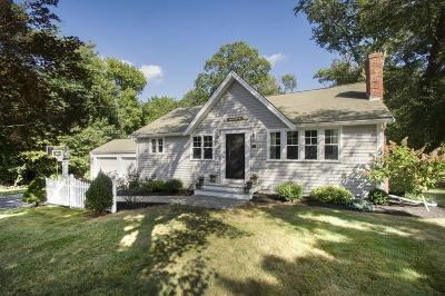 Scituate Single Family Home Under Agreement: 44 Hughey Rd