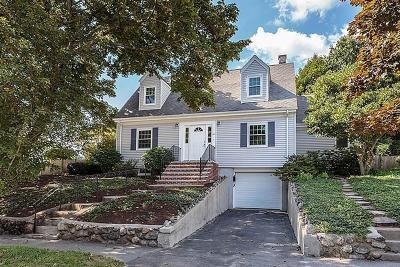 Arlington MA Single Family Home Under Agreement: $710,000