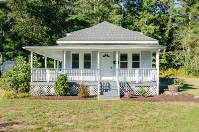 Plymouth Single Family Home Under Agreement: 253 Carver Rd