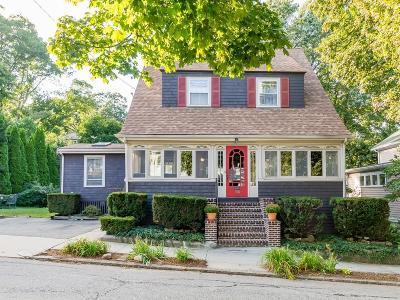 Arlington MA Single Family Home Under Agreement: $759,900