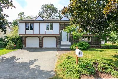 Needham Single Family Home For Sale: 65 Mary Chilton Rd