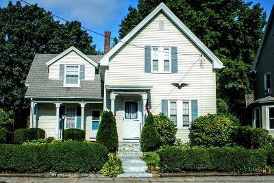 Framingham Single Family Home Under Agreement: 57 Cedar St