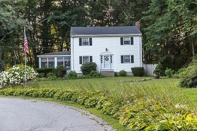 Tewksbury Single Family Home Under Agreement: 24 Westland Drive