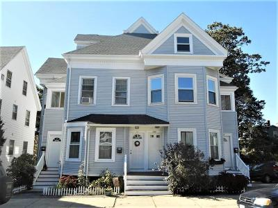 Beverly Condo/Townhouse Under Agreement: 17 Atlantic Ave #17