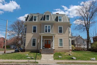 Newton Multi Family Home For Sale: 4 Hovey St