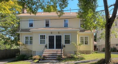 Arlington MA Single Family Home Under Agreement: $579,000