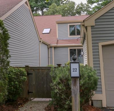 Wayland Condo/Townhouse For Sale: 22 Cutting Cross Way #22
