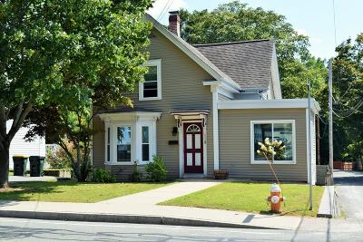 Franklin Single Family Home Contingent: 118 Cottage St