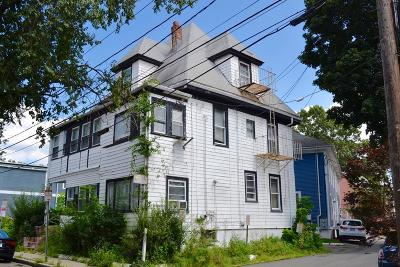 Cambridge Single Family Home For Sale: 50-52 Washburn Ave