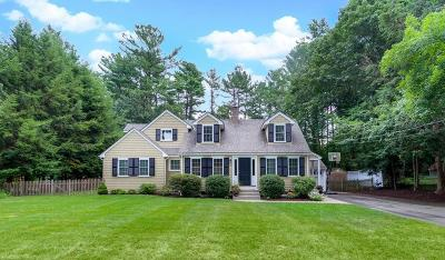 Wayland Single Family Home Contingent: 17 Rich Valley Road