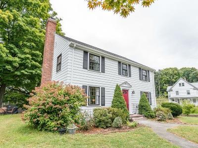 Newton Single Family Home Under Agreement: 5 Summer Street