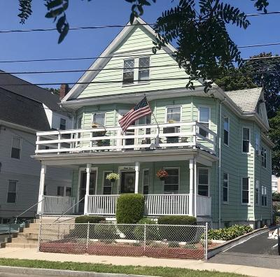 Watertown Multi Family Home Under Agreement: 35 Union Street