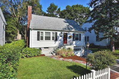 Arlington MA Single Family Home Price Changed: $749,900