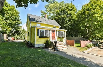 Melrose Single Family Home Under Agreement: 388 Grove Street