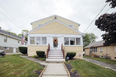 Braintree Single Family Home Under Agreement: 110 Bellevue Rd