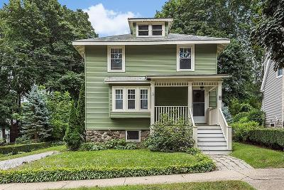 Wakefield Single Family Home Contingent: 30 Eustis Ave