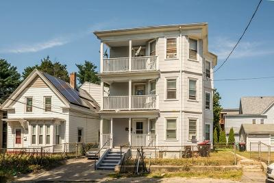 Brockton Multi Family Home For Sale: 126 Riverview St