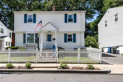 Boston Single Family Home Contingent: 68 Asheville Rd