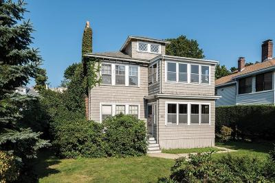 Brookline MA Multi Family Home For Sale: $1,149,000