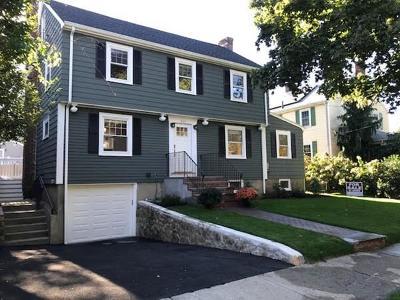 Arlington Single Family Home Under Agreement: 247 Wachusett Avenue