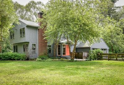 Sherborn Single Family Home Under Agreement: 69 Bogastow Brook Rd.
