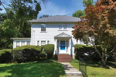 Newton Single Family Home Under Agreement: 17 Halcyon Road
