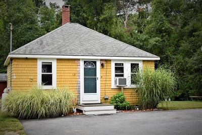 Wareham Single Family Home Contingent: 12 Fearing Hill Rd