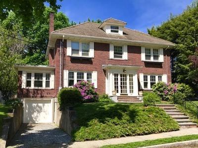 Newton Single Family Home Under Agreement: 25 Manemet Rd