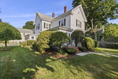 Newton Multi Family Home Under Agreement: 955 Centre Street