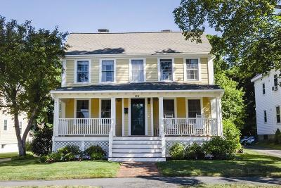 Newton Single Family Home Under Agreement: 129 Norwood Ave
