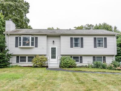 Dedham Single Family Home Contingent: 160 Curve St