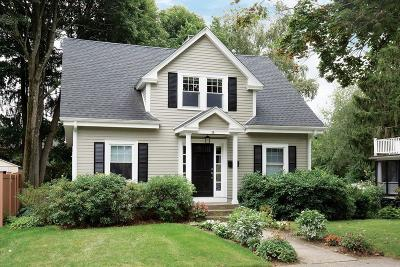 Newton Single Family Home Under Agreement: 28 Brewster Rd