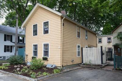 Cambridge Single Family Home Under Agreement: 75 Cushing Street #75