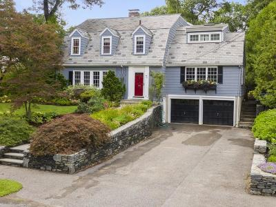 Wellesley Single Family Home Contingent: 46 Fiske Rd