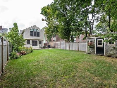 Cambridge Single Family Home For Sale: 30 Hubbard Avenue