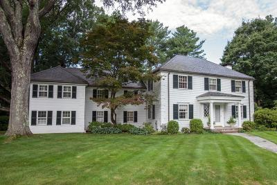 Wellesley Single Family Home Under Agreement: 42 Chatham Circle