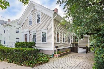 Somerville Single Family Home Under Agreement: 88 Properzi Way