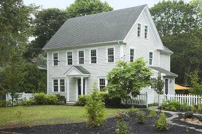 Norwell Single Family Home Under Agreement: 119 High St