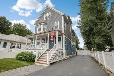 Boston Single Family Home For Sale: 34 Imbaro Rd