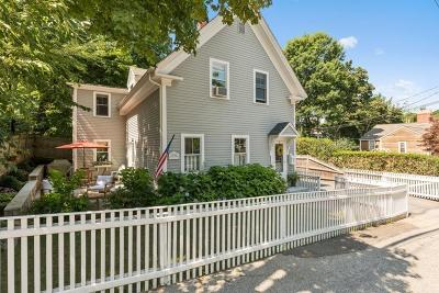 Hingham Single Family Home Contingent: 7 Hersey St